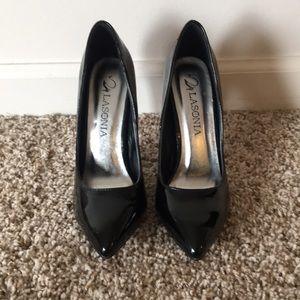 Shoes - Black Patent Leather Pumps